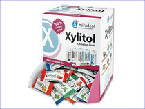 CHICLE CON XILITOL (SEIS SABORES)